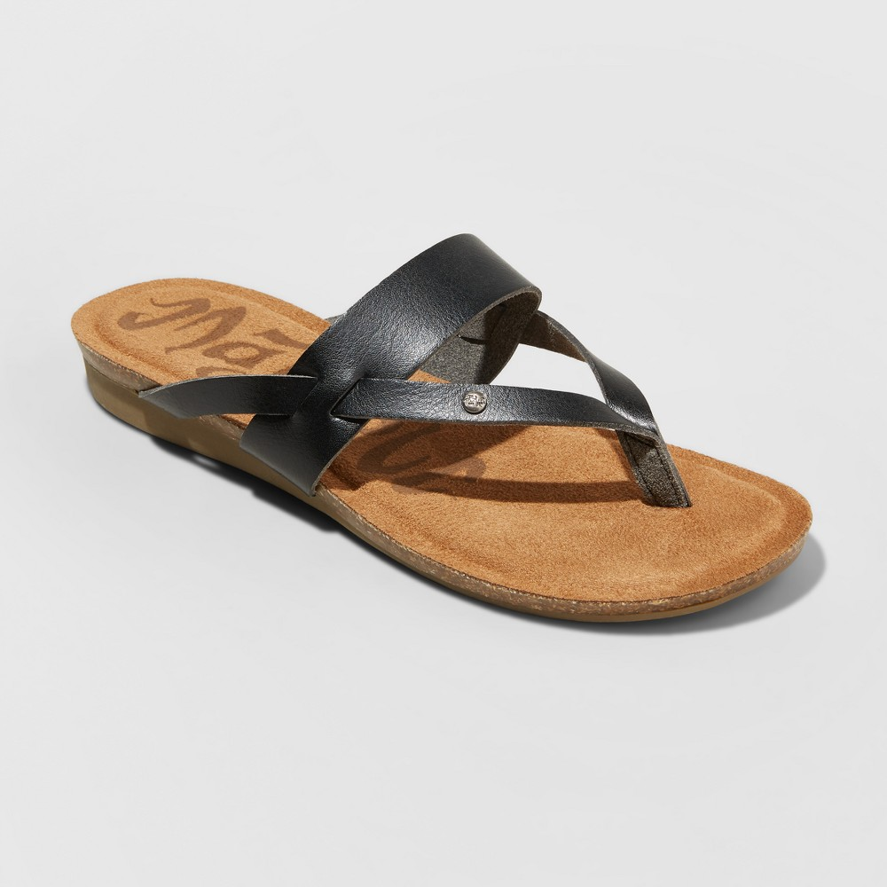 Women's Mad Love Regina Flip Flop Sandal - Black 6