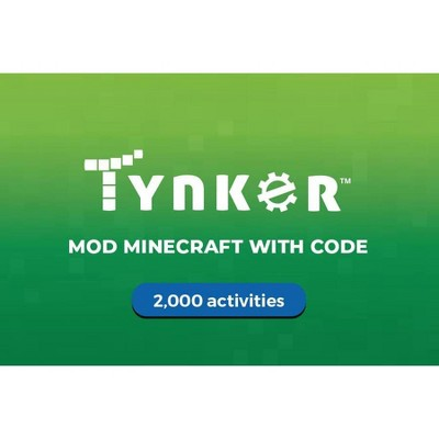 Tynker 6 Month Minecraft Gift Card $49 (Email Delivery)