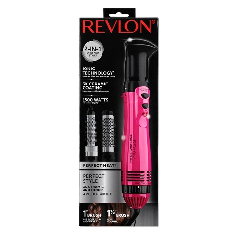Revlon Ionic Technology Perfect Heat & Style Hair Dryer