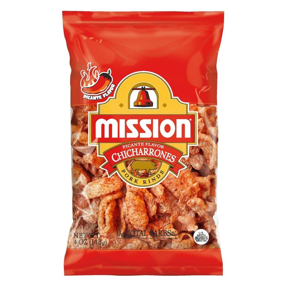 Mission Chicharrones Picante - 4oz