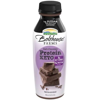 Bolthouse Farms Protein Keto Dark Chocolate Shake - 15.2 fl oz