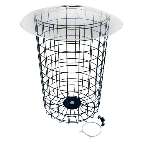Droll Yankees Dome Cage Bird Feeder Guards - Sliver - image 1 of 1
