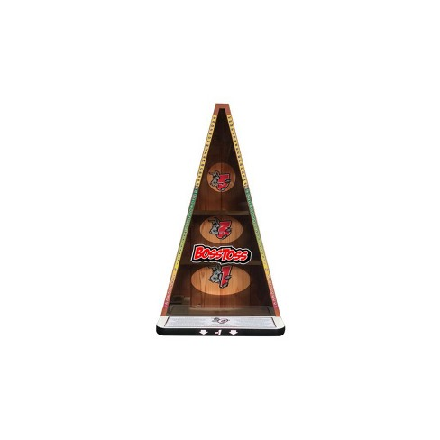Gronomics Outdoor Indoor A-Hole Bean Bag Toss Game w/ 4 Bean Bags & LEDs, Wood Grain Finish - image 1 of 4