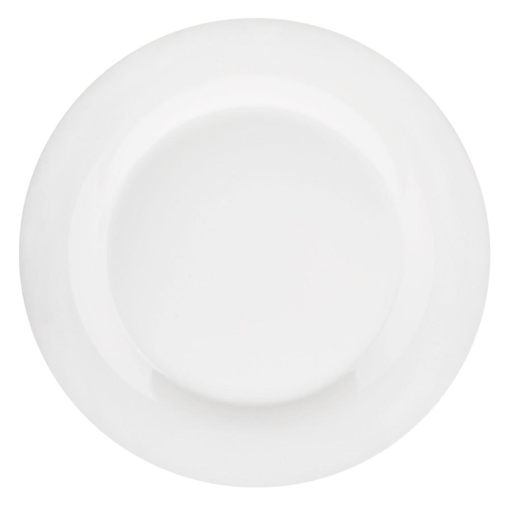 "Image of 10 Strawberry Street 10.5"" White Dinner Plates, Set of 12"