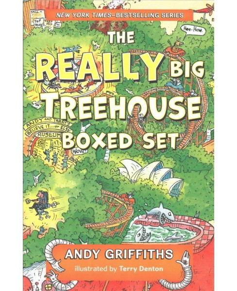 Really Big Treehouse Boxed Set : The 13-story Treehouse; the 26-story Treehouse; the 39-story Treehouse - image 1 of 1