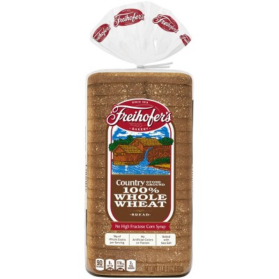 Freihofer's 100% Whole Wheat Country Bread - 24oz