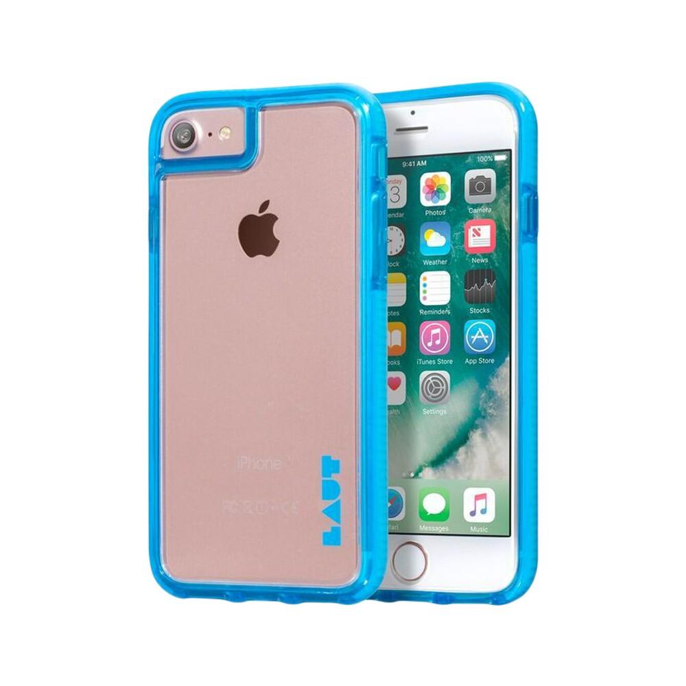 LAUT Apple iPhone 8/7/6s/6 Fluro Case - Blue