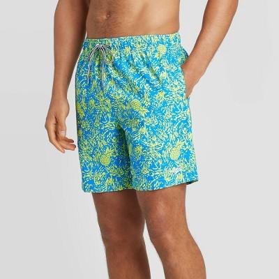 "Speedo Men's 8"" Pineapple Volley Swim Shorts"