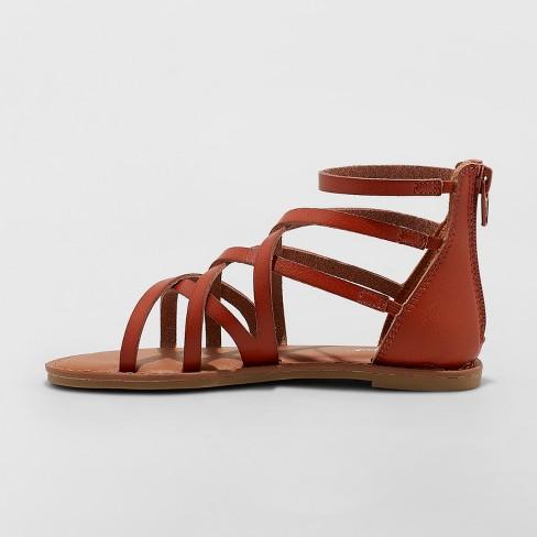 074d9e0862b1 Girls  Lilith Gladiator Sandals - Cat   Jack™   Target