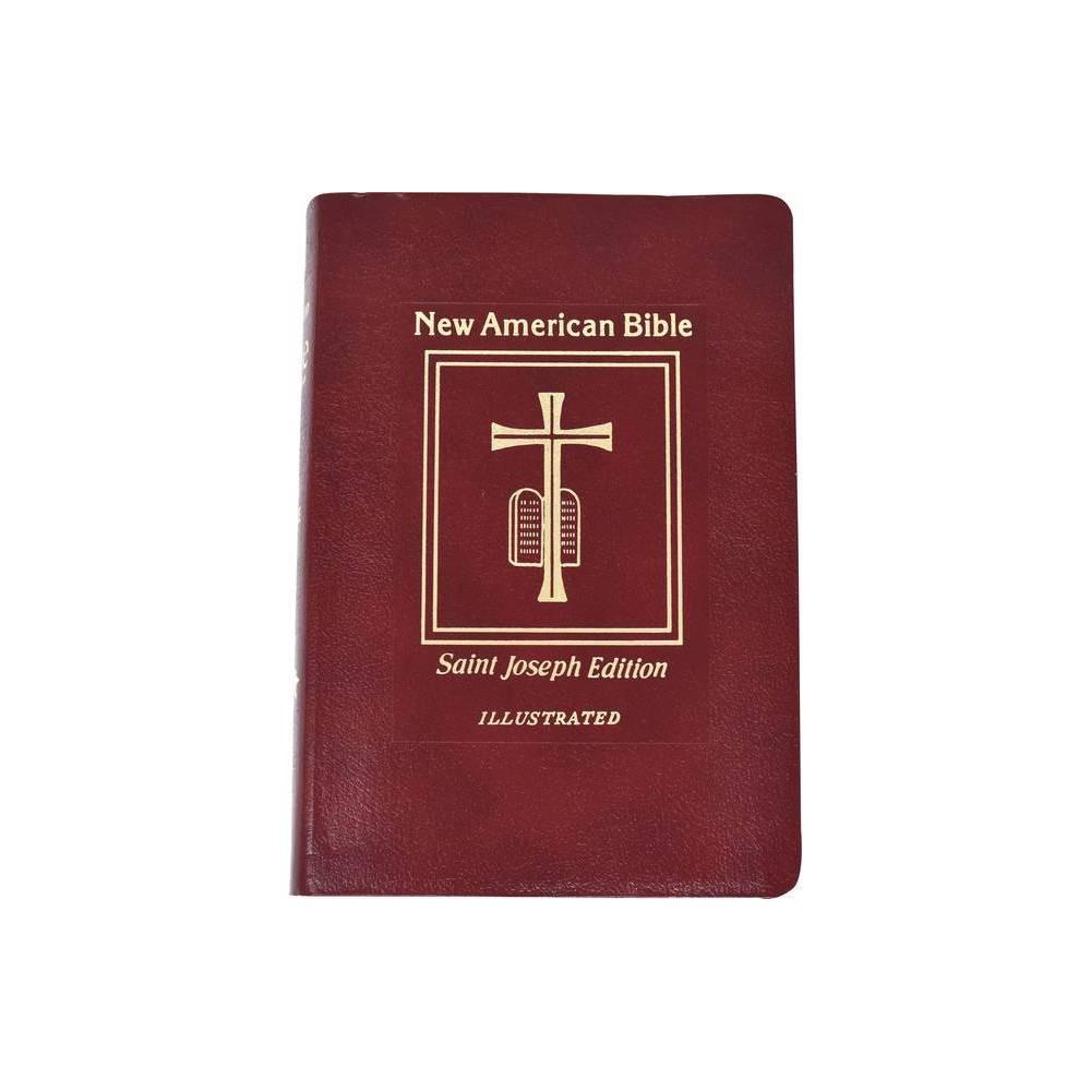 Saint Joseph Medium Size Bible Nabre Leather Bound