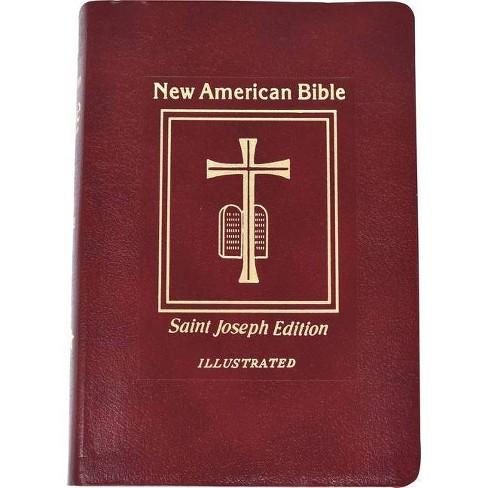 Saint Joseph Medium Size Bible-NABRE - (Leather_bound) - image 1 of 1