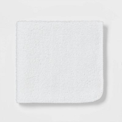 24pk Washcloth Set True White - Room Essentials™