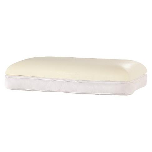 comfort revolution 2 in 1 reversible bed pillow white standard target - Comfort Revolution Pillow