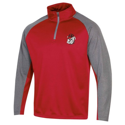 NCAA Georgia Bulldogs Men's 1/4 Zip Fleece Sweatshirt - image 1 of 2