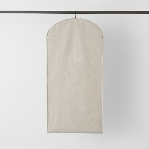 Garment Bag With Window Light Gray - Made By Design™ - image 1 of 7