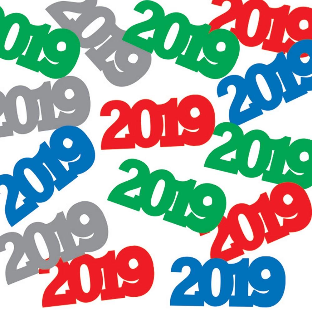 2019 Assorted Colors Confetti