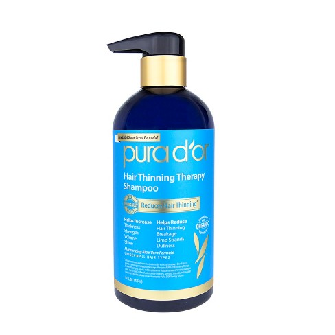 Pura d'or Hair Thinning Therapy Shampoo - 16 fl oz - image 1 of 3