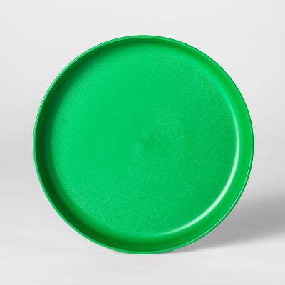 7.3  Plastic Kids Plate Green - Pillowfort™