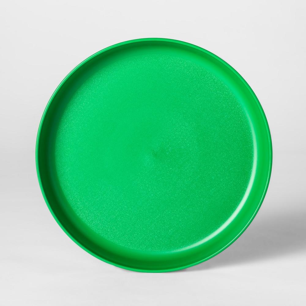 7.3 Plastic Kids Plate Green - Pillowfort