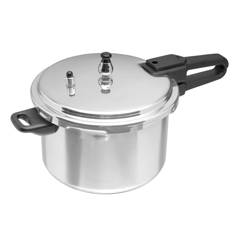 Imusa 6qt Gourmet Stovetop Pressure Cooker, Silver