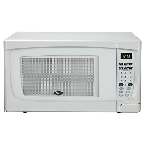 Oster 1 6 Cu Ft 1100 Watt Microwave Oven White