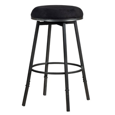 Sanders Backless Adjustable Barstool Metal/Black - Hillsdale Furniture