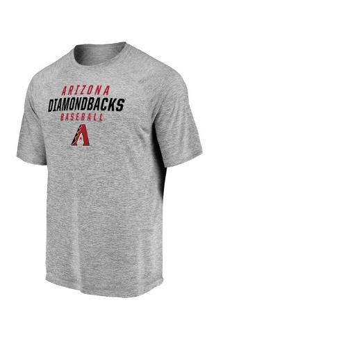 MLB Arizona Diamondbacks Men's Mad Dash Gray Athleisure T-Shirt - image 1 of 3