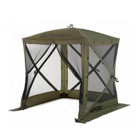 Quick-Set Traveler 6x6ft. Portable Camping Outdoor Gazebo Canopy Shelter, Green - image 1 of 4