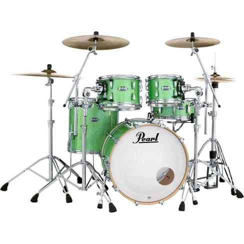 Pearl Masters Maple Complete 4-Piece Shell Pack Absinthe Sparkle - image 1 of 4