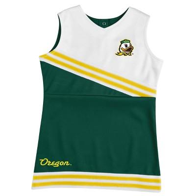 NCAA Oregon Ducks Toddler Girls' 2pc Cheer Set - 18M