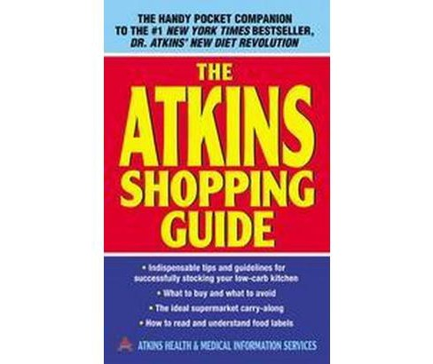 Atkins Shopping Guide (Paperback) - image 1 of 1