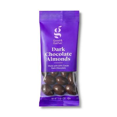 Dark Chocolate Covered Almonds - 1.5oz - Good & Gather™