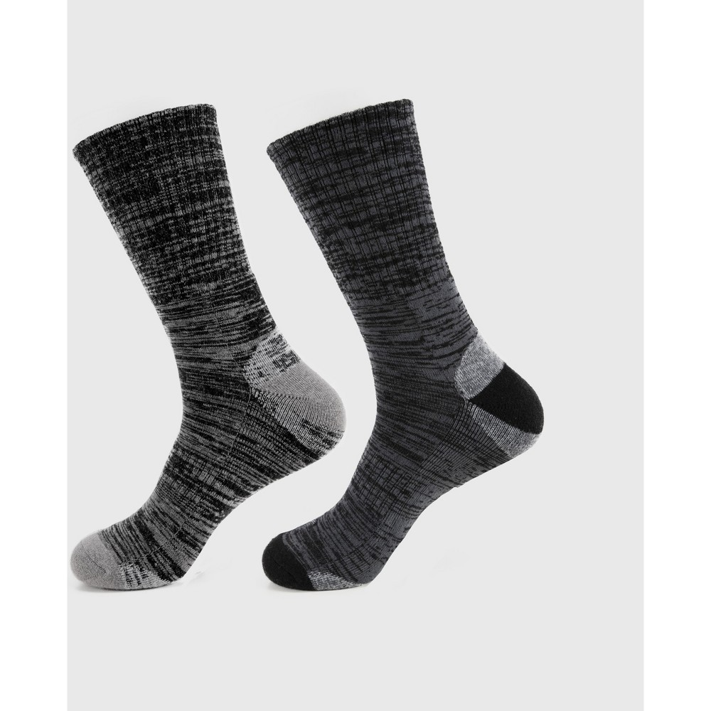 Image of Men's Wilder 2pk Merino Lightweight Hiker Socks - Black L/XL, Size: XL