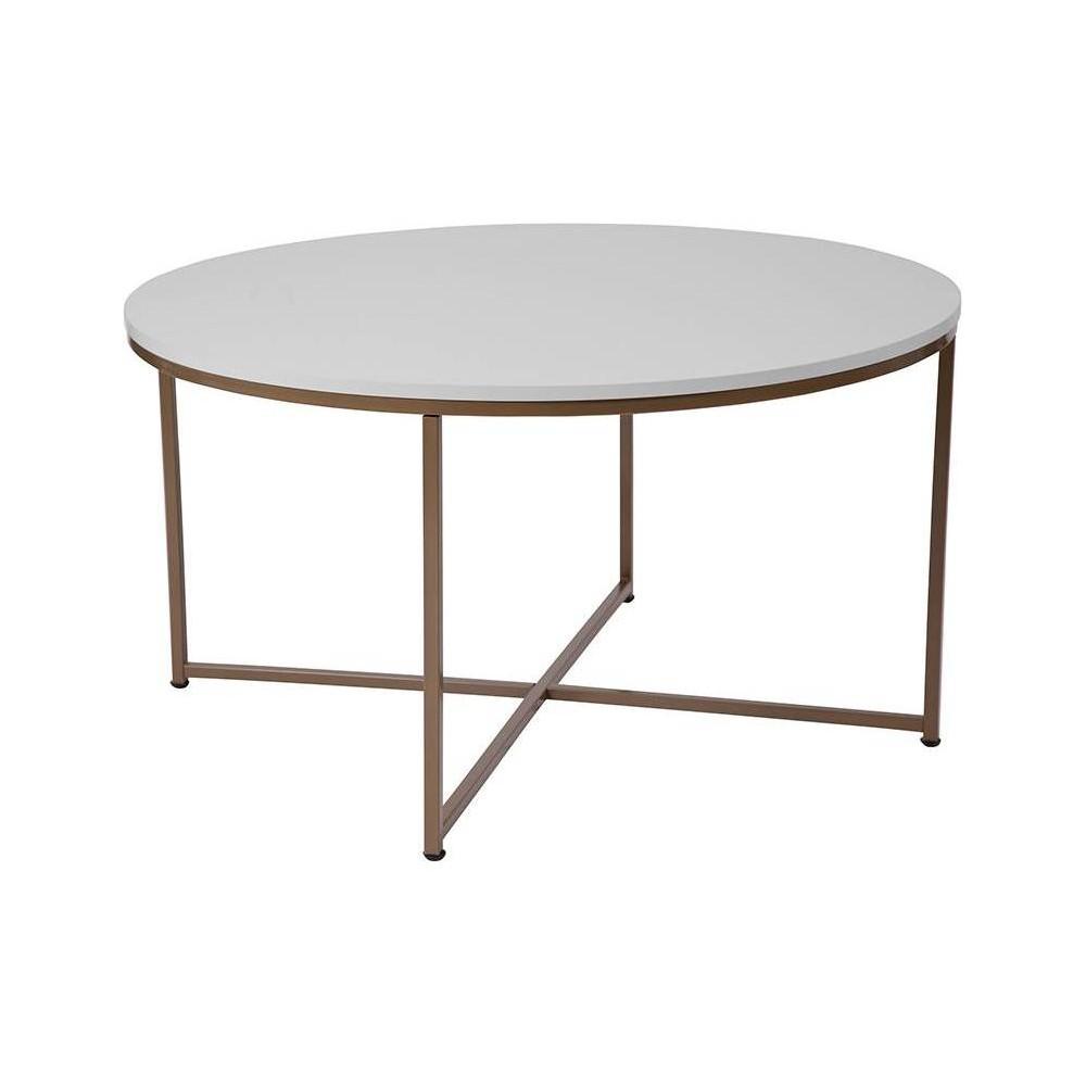 Hampstead Coffee Table White - Riverstone Furniture
