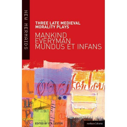 Three Late Medieval Morality Play - (New Mermaids) (Paperback) - image 1 of 1