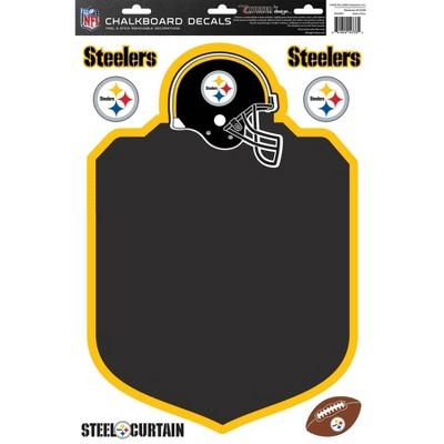 NFL Pittsburgh Steelers Chalkboard Decals