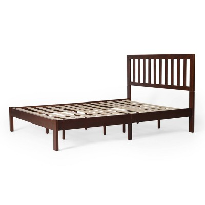Queen Norgate Modern Farmhouse Platform Bed - Christopher Knight Home
