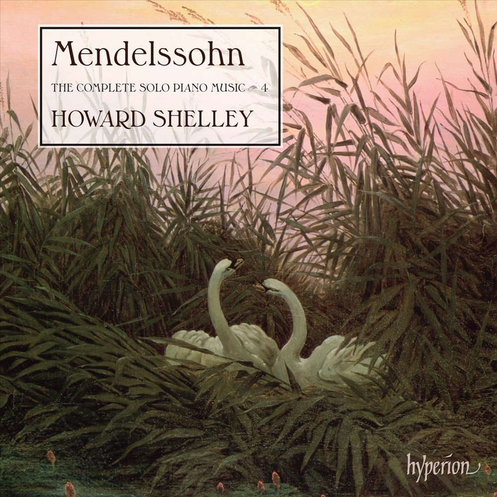 Howard Shelley - Mendelssohn:Complete Solo Piano Vol 4 (CD)