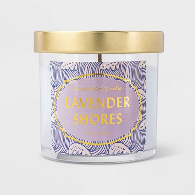 Lidded Jar Seaside Lavender Candle - Opalhouse™