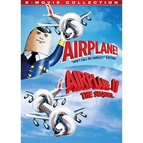 Airplane: 2 Movie Collection (DVD) - image 1 of 1