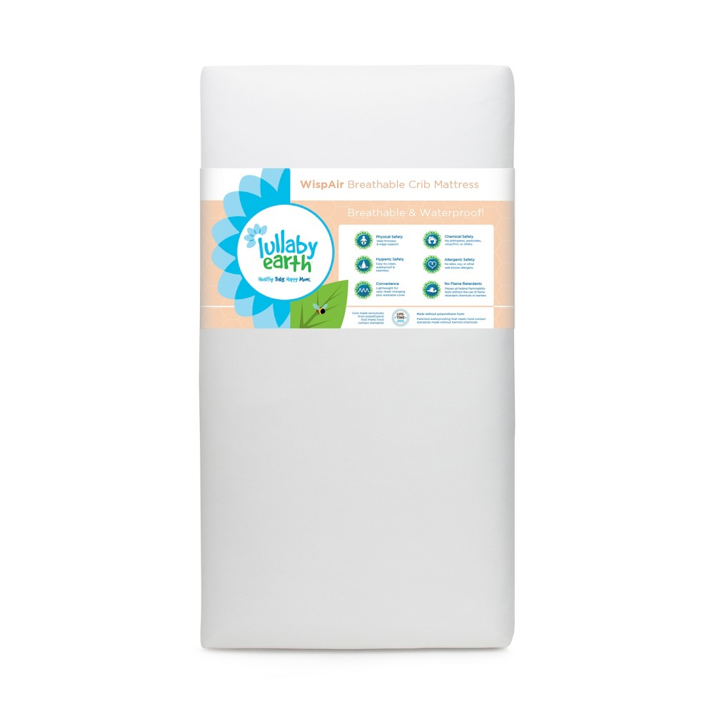 Image of Foam Mattress Lullaby Earth, White