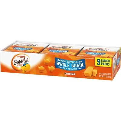 Pepperidge Farm Goldfish Whole Grain Cheddar Crackers - .9oz/9ct
