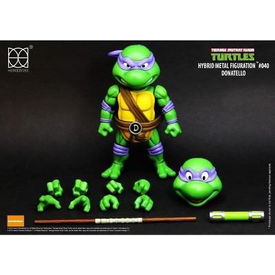 Herocross Company Limited Teenage Mutant Ninja Turtles Hybrid Metal Figuration Action Figure   Donatello
