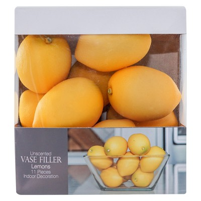 Lemon Vase Filler Yellow 11pc - Lloyd & Hannah