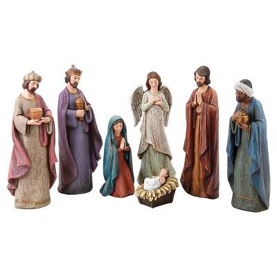 Nativity Figurine Set - 6pc