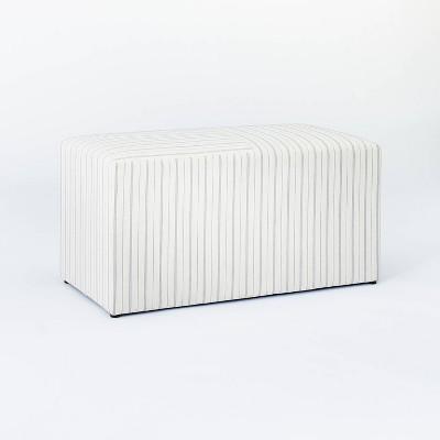 Lynwood Cube Bench - Threshold™ designed with Studio McGee