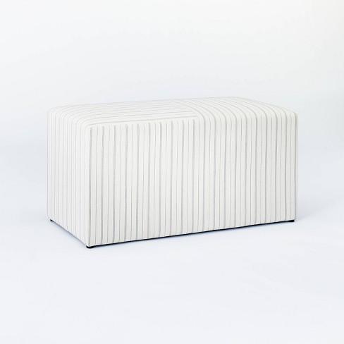 Lynwood Cube Bench - Threshold™ designed with Studio McGee - image 1 of 4