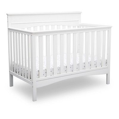 Delta Children Skylar 4-in-1 Convertible Crib - Bianca White