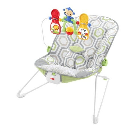 Fisher-Price Bouncer - Geometric Meadow - image 1 of 4
