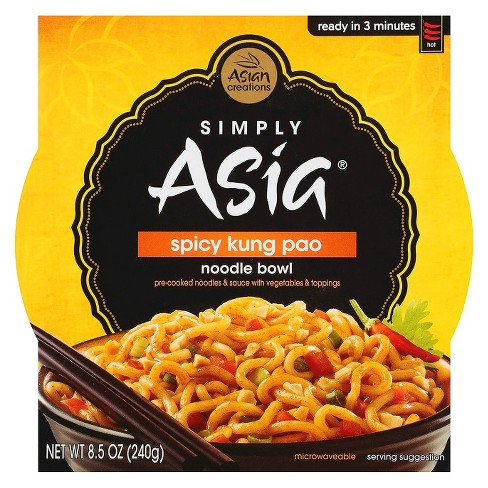 Simply Asia Spicy Kung Pao Noodle Bowl 8.5 oz - image 1 of 1